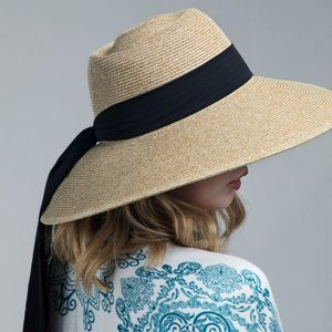 Vintage Inspired French Sun Hat